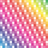 Seamless rainbow squared pattern Royalty Free Stock Images