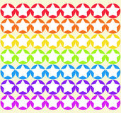 Seamless Rainbow Star Stock Photos