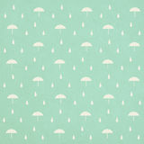 Seamless raindrops pattern with umbrella royalty free illustration