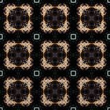 Seamless raster pattern in oriental style psychedelic mosaic Pattern for wallpaper, backgrounds, decor for tapestries, carpet.  Royalty Free Stock Photo