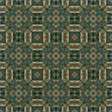 Seamless raster pattern in oriental style psychedelic mosaic Pattern for wallpaper, backgrounds, decor for tapestries, carpet royalty free stock photos