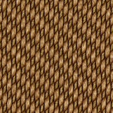 Seamless rattan weave background Stock Images