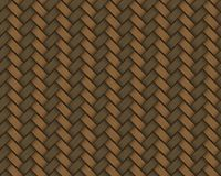 Seamless rattan weave background macro image. See my other works in portfolio Stock Image