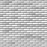 Seamless realistic brick wall Royalty Free Stock Images