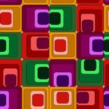 Seamless rectangle pattern Royalty Free Stock Photos