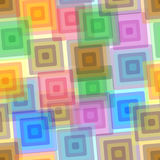 Seamless rectangle pattern Royalty Free Stock Photo