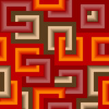 Seamless rectangle pattern Stock Image
