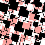 Seamless rectangle pattern Royalty Free Stock Images