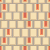 Seamless rectangles. Geometric rectangle seamless background pattern Stock Images