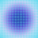 Seamless rectangles pattern dark blue purple violet pink turquoise shiny Stock Image