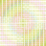 Seamless rectangles pattern pastel green pink yellow. Abstract geometric seamless background. Regular rectangles pattern in pastel shades multicolored, modern Royalty Free Stock Photos