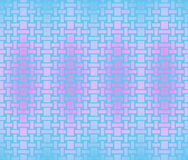 Seamless rectangles and squares pattern violet pink light blue turquoise Royalty Free Stock Image