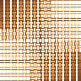 Seamless rectangles and stripes pattern white beige brown netting Stock Images