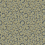 Seamless recycle background. Vector pattern Royalty Free Stock Photography