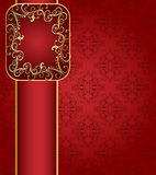 Seamless red background Stock Images