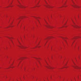 Seamless red background with dark lotus.  seamless pattern. Royalty Free Stock Photography