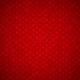 Seamless red background with snowflakes Royalty Free Stock Image