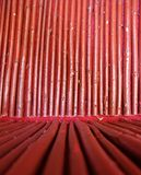 Seamless Red Bamboo Wood Background Royalty Free Stock Photography