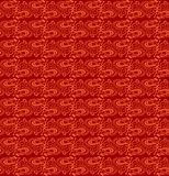 Seamless Red Batik Style Texture Royalty Free Stock Photography