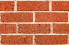 Seamless Red Brick Background Stock Image
