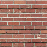 Seamless Red Brick Pattern Stock Image