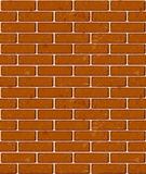 Seamless red brick pattern Royalty Free Stock Photography