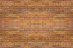 Seamless red brick wall, flat brown old stone background Royalty Free Stock Photo