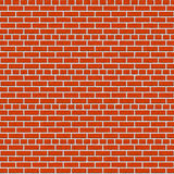 Seamless red brick wall texture Royalty Free Stock Images