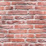 Seamless red brick wall. texture, background. Royalty Free Stock Photo