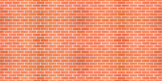 Seamless red brick white line. Stock Images