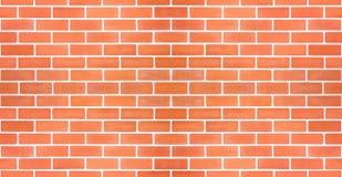 Seamless red brick white line. Stock Photo