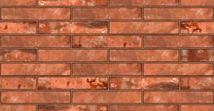 Seamless red brickwall wall texture Stock Photos