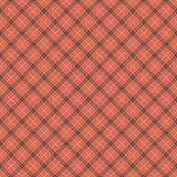 Seamless red checked fabric Stock Photo