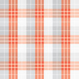 Seamless red checked pattern Stock Image