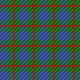 Seamless red checkered pattern Royalty Free Stock Images