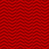 Seamless red chevron pattern Royalty Free Stock Images
