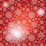 Seamless red christmas pattern Royalty Free Stock Image