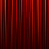 Seamless red curtain Royalty Free Stock Photos