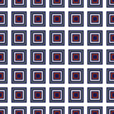 Seamless Red, Dark Blue Abstract Modern Pattern Royalty Free Stock Photos