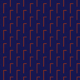 Seamless Red, Dark Blue Abstract Modern Pattern Stock Photography