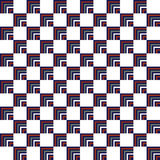 Seamless Red, Dark Blue Abstract Modern Pattern Royalty Free Stock Images