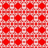 Seamless red floral background excellent Royalty Free Stock Photography
