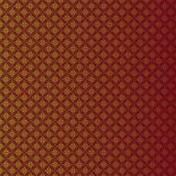 Seamless red gradient round pattern background. Royalty Free Stock Image