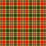 Seamless red and green pattern Stock Images