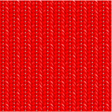 Seamless red knit pattern Royalty Free Stock Photo