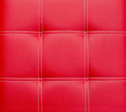 Seamless red leather texture Stock Images