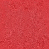 Seamless red leather texture for mural wallpaper Royalty Free Stock Photography