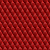 Seamless red leather texture. Vector leather background. Royalty Free Stock Photography
