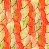 Seamless Red, marsh watercolor artist wallpaper modern texture o stock illustration