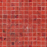 Seamless red mosaic tile texture Royalty Free Stock Image